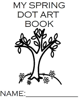 Spring Dot Art Book