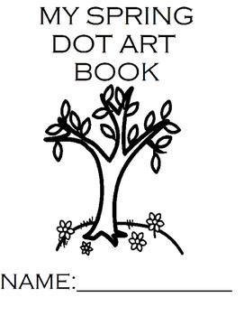 Spring Dot Art Book