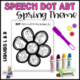 Spring Dot Art: Gliding of Liquids (/L/ and /R/ Phonemes)