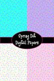 Spring Dot Digital Papers {FREEBIE}
