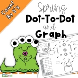 Spring Dot-to-Dot and Graph - Count by 5s Bonus Template/Color Sheets For Spring