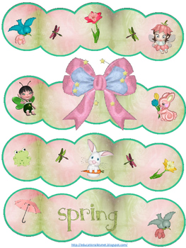 Spring Dreams... Bulletin Board Kit