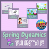 Spring Dynamics Boom Cards BUNDLE   Distance Music Learning