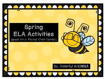 Spring ELA Activties