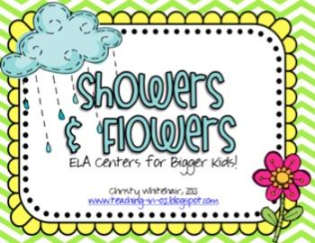 Spring ELA Centers for Upper Elementary