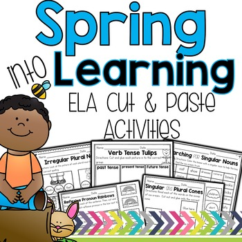 Spring ELA Cut and Paste