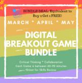 Spring ELA Digital Breakout Bundle