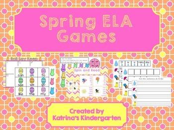 Spring ELA Games