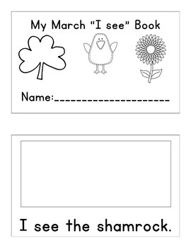 March ELA Unit for Early Elementary or Special Education