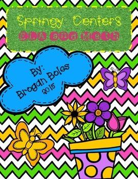 Spring ELA & Math Centers