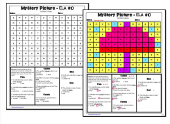 Spring ELA Mystery Puzzles Grade 3 Edition