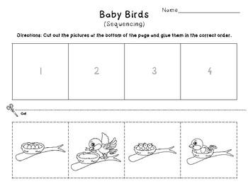 Spring ELA Practice Pages (K-1st Grade)