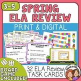 Spring Task Cards for ELA Review