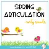 Spring: Early Developing Sounds Articulation Game