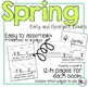 Spring Early and Emergent Readers