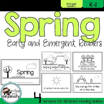 Spring Seasons Early and Emergent Readers