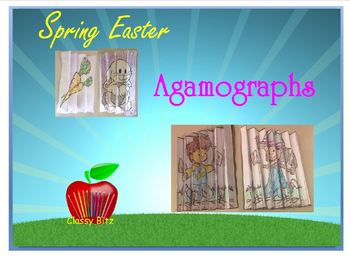 Spring Easter Art Craft Agamographs and Writing
