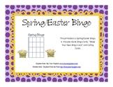 Spring /  Easter Bingo Game
