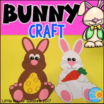Spring/Easter Bunny Craft