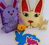 Spring Easter Bunny Craft Pack!