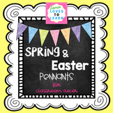 Spring & Easter Classroom Decorations (AND MORE!)