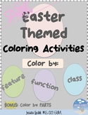 Spring - Easter  Color by Feature, Function, Class