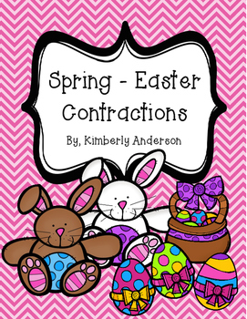 Spring - Easter Contractions Match