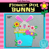 Spring Craft: Flower Pot Bunny