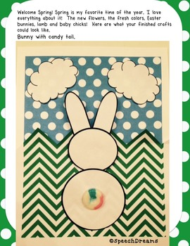 Spring Easter Crafts and Written Expression
