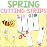 Spring & Easter Cutting Strips for Toddler, Preschool, Kindergarten
