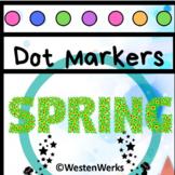 Spring Easter Dot Marker No Prep Printables