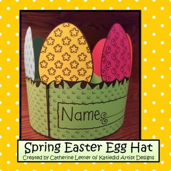 Spring Easter Egg Hat
