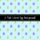Spring Easter Egg Pastel Backgrounds