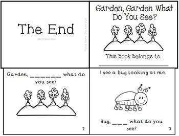 Spring Easter Emergent Reader Mini-Book Set of 4!