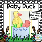 Farm Baby Duck Craft &: Writing Activities