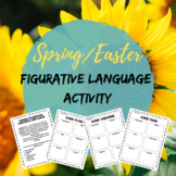 Spring/Easter Figurative Language Activity