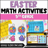 Spring Easter Math Centers with Bunnies and Eggs {Common Core Aligned}