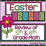 Spring/Easter Math Escape Room Review Activity