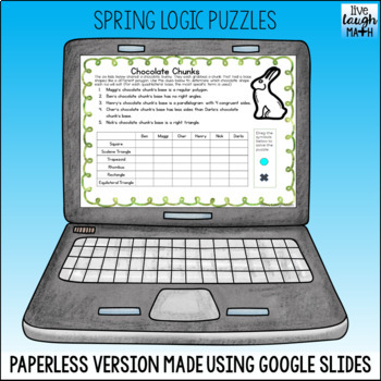 Spring & Easter Math Logic Puzzles
