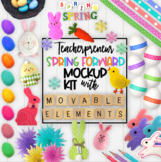 Spring Easter Mockups | Teacherpreneur Mockup | Create You