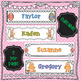 Spring Easter Name Tags - Editable
