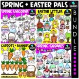 Spring & Easter Pals Clip Art Bundle {Educlips Clipart}