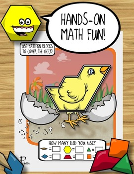 Spring / Easter Pattern Block Puzzles!