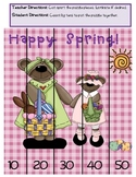 Spring/ Easter Puzzles - Skip Counting Math Center
