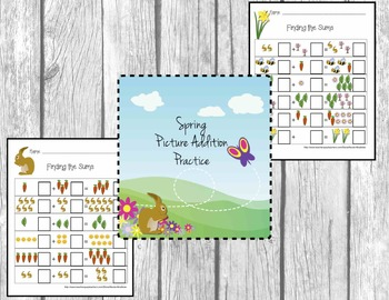 Spring (Easter) Rabbit Addition Fun!