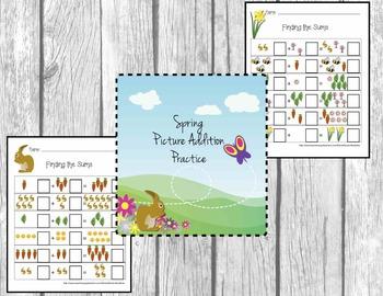 Spring (Easter) Rabbit Addition Fun!