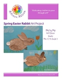 Spring Easter Bunny Art Project
