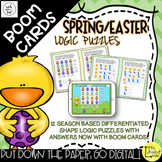 Spring / Easter Shape Logic Puzzles