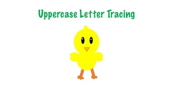 Spring / Easter Uppercase Letter Tracing