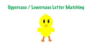 Spring / Easter Uppercase/Lowercase Letter Matching